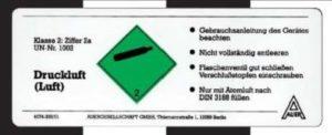 gefahrengut-kennzeichnung