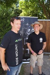 HP Hartmann und Martin vom Sidemount-Forum.com
